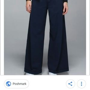 Lululemon forward fold trousers